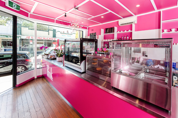 Pink, The house of Coffee and Tea - Marrickville